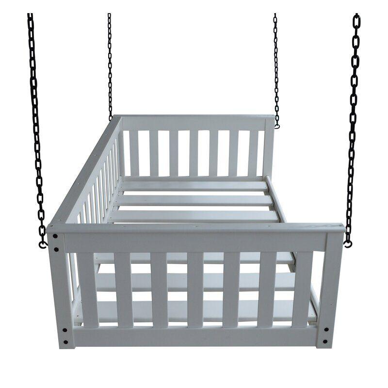Concow Porch Swing In 2020 Porch Swing Porch Swing Bed Small Balcony Decor