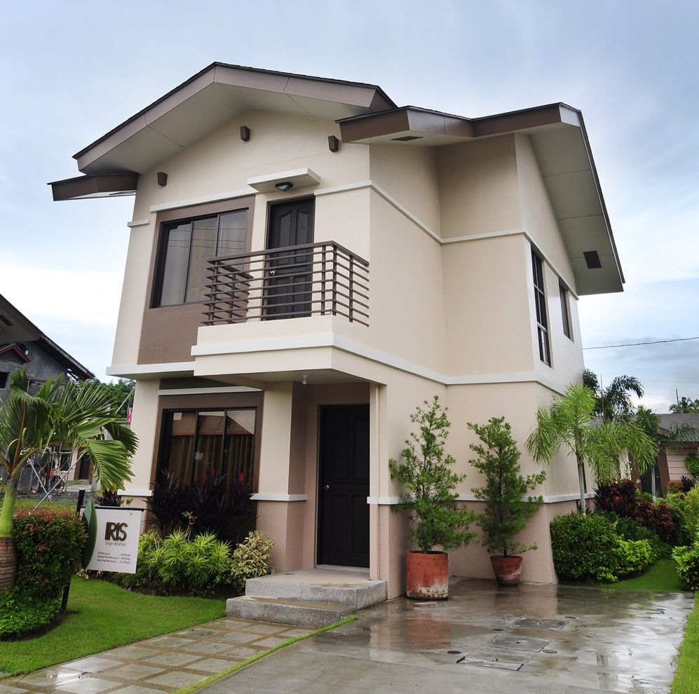 Architecture willow park homes house and lot at cabuyao for Elevated home plans