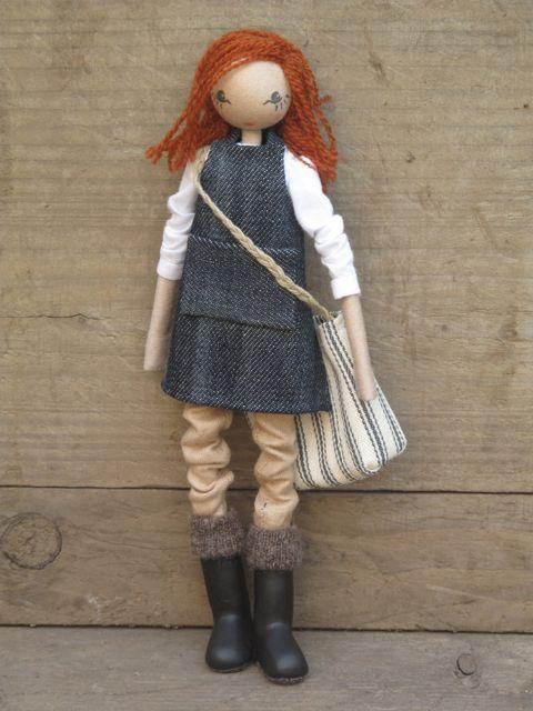 Gardening doll, Sarah Strachan