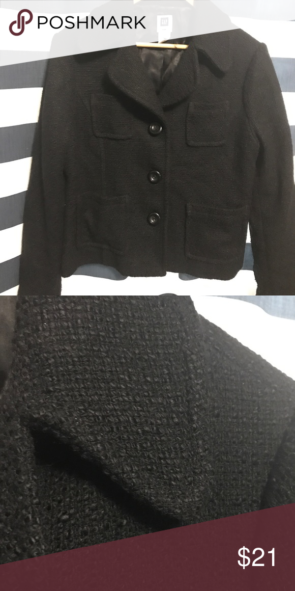 9c159f7ab53f5 🍂last chance🍂Gap cropped coat sz 14 In great condition