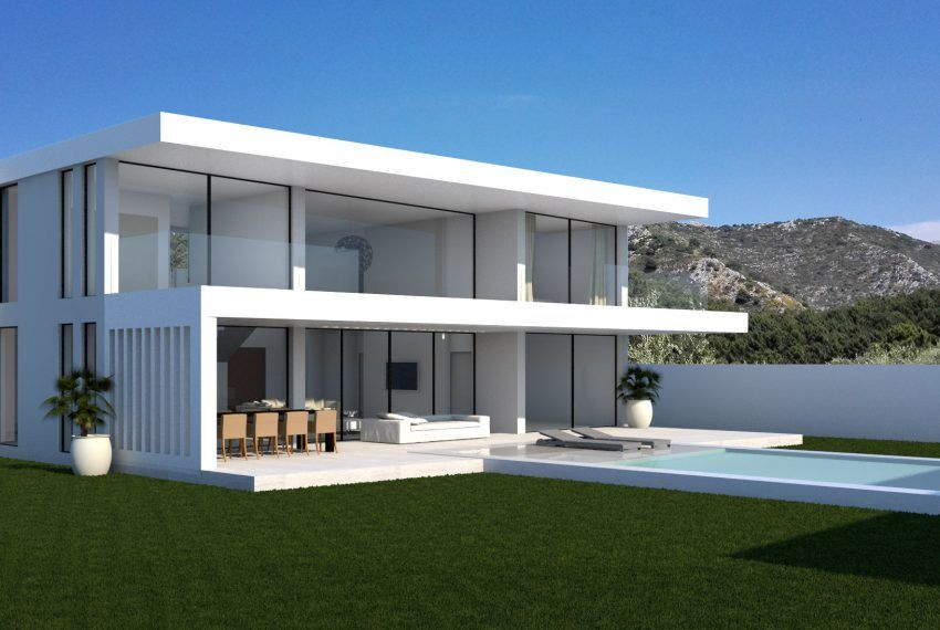 Case Moderne Di Design : The parallax house design by modern villas modern houses in