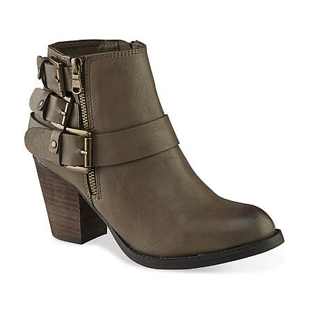 SM New York Women's Dahlia Taupe Ankle Bootie - Width: Medium - Was $59.99 - Now $34.99