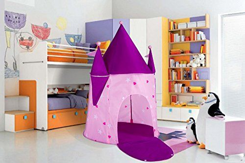 Kids Play Tent Princess Crystal Castle Play-House Indoor. & Kids Play Tent Princess Crystal Castle Play-House Indoor ...