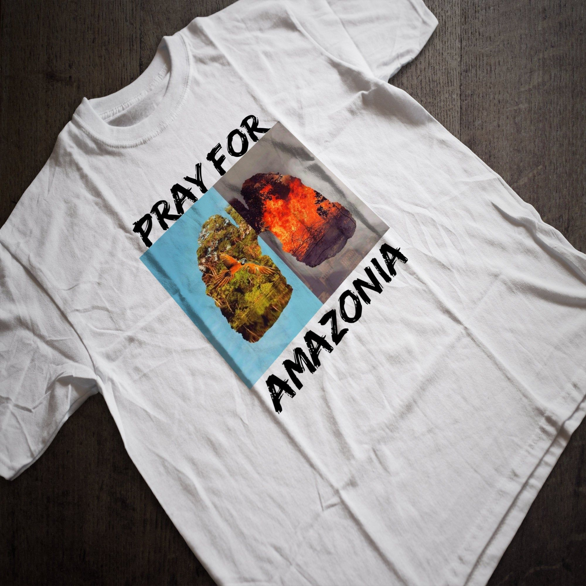 Pray For Amazonia Shirt Amazon Rainorest Fire Amazon Forest Fire