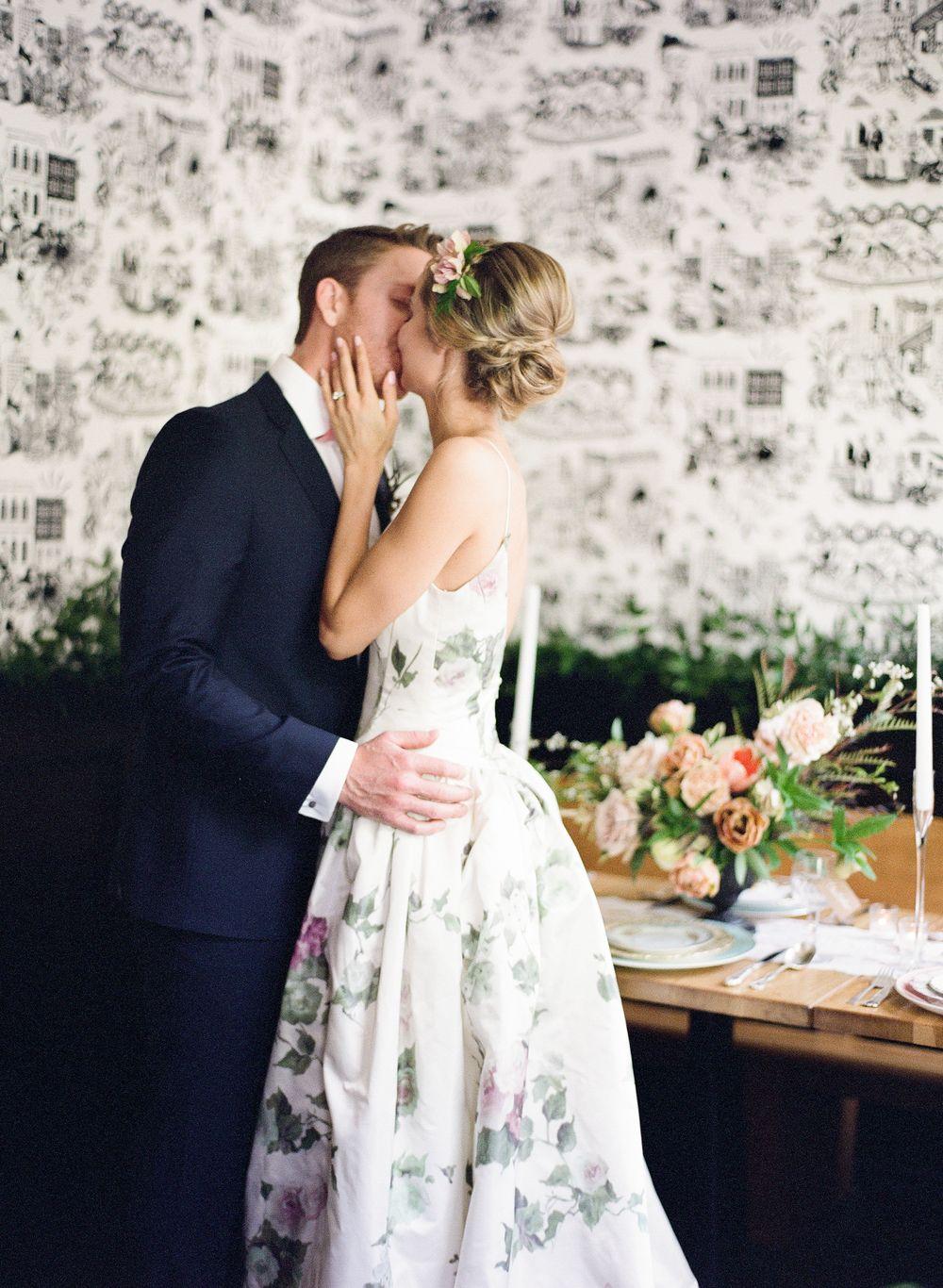 Something blue wedding floral wedding dress ashley peraino ashley