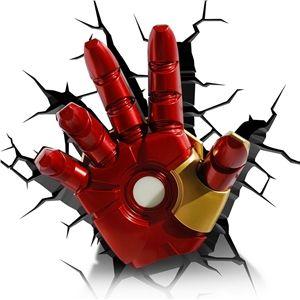 Iron Man Hand 3D Deco Light