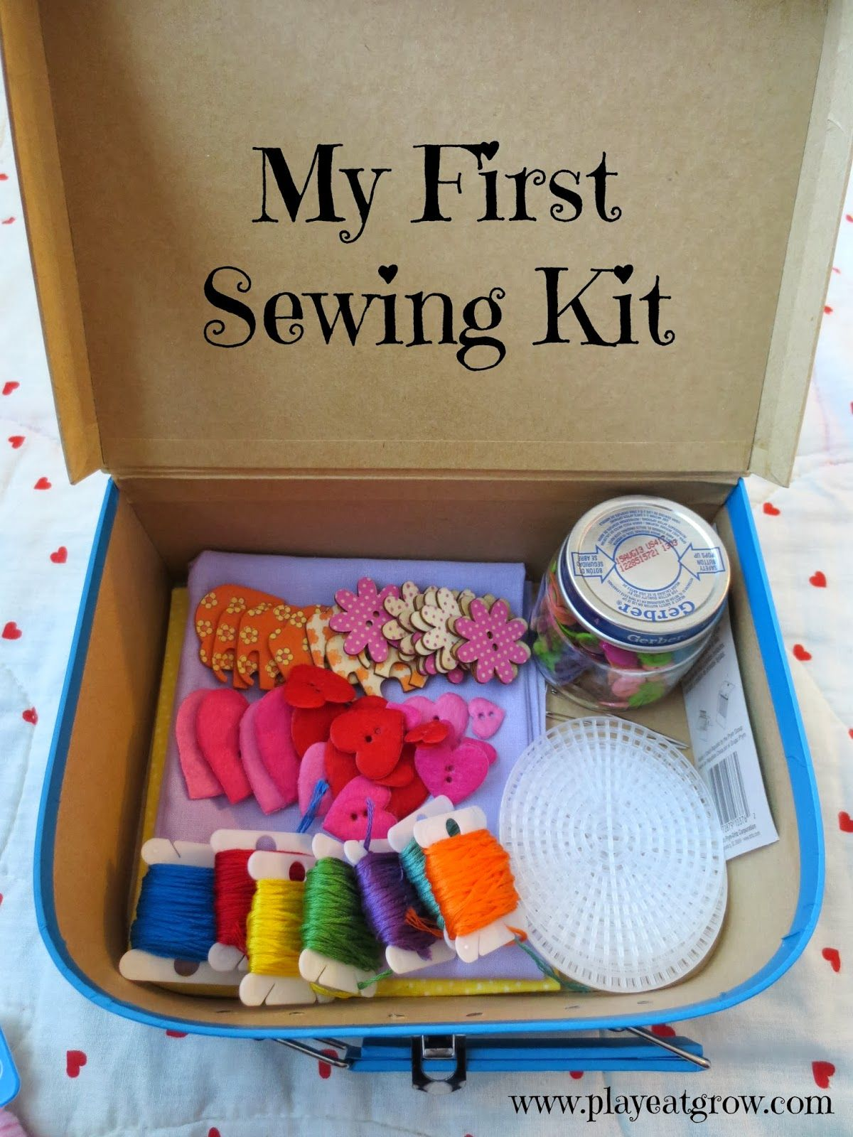Play Eat Grow DIY First Sewing Kit Great t idea for the