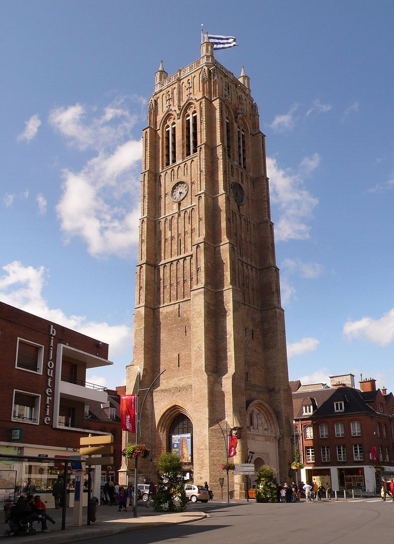 Belfries Of Belgium And France France City Dunkirk France