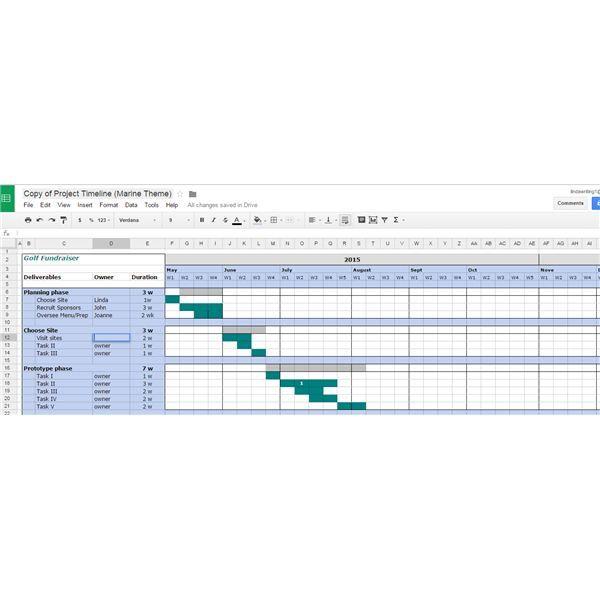 Project Timeline Project Management Templates Project