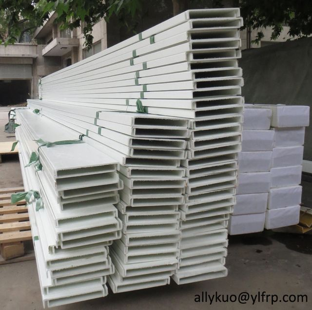 Source Fiberglass cable bridge/GRP wire cable tray, cable support ...