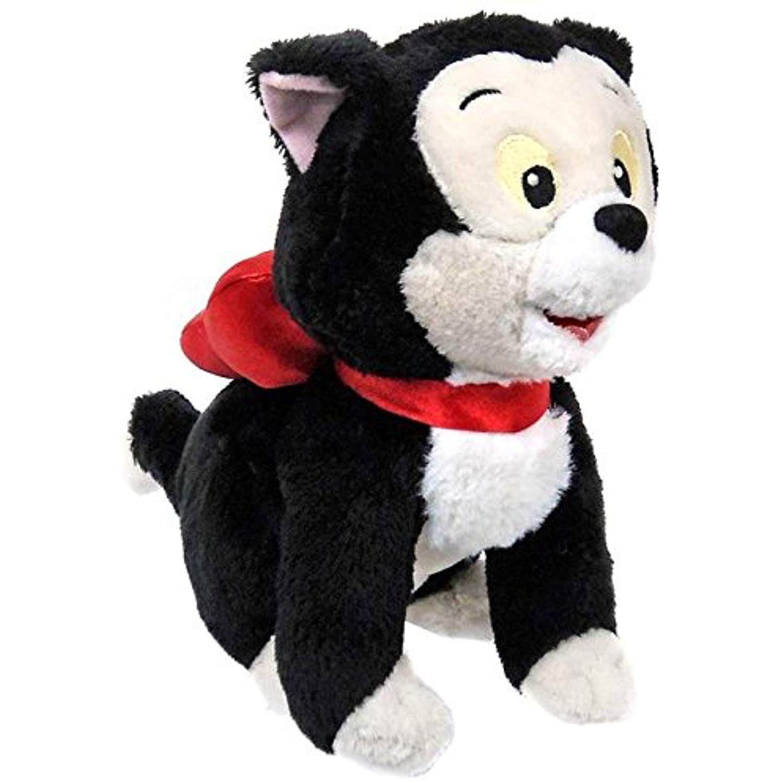 Disney Junior Minnies Pet Cat Figaro 8 Inch Bean Bag Plush For