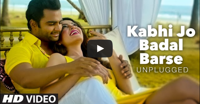 download kabhi jo badal barse song of jackpot movie