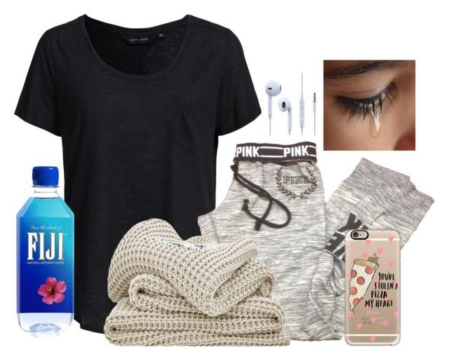 """""""Our first Fight as Best Friends"""" by dejonggirls ❤ liked on Polyvore featuring New Look, Victoria's Secret, Casetify, women's clothing, women, female, woman, misses and juniors"""