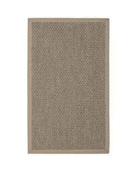 Nourison  Kerala Java Taupe Area Rug - Online Only