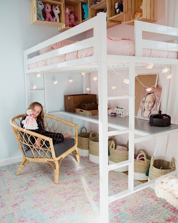 42 Best Of Bunk Bed Decoration Ideas What To Look For When Choosing The Right Bunk Bed Kids Bedroom Designs Small Room Bedroom Girls Loft Bed