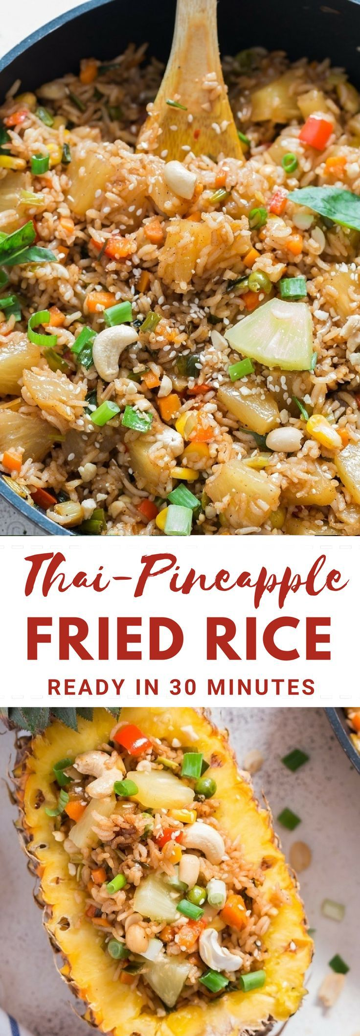 Thai Pineapple Fried Rice (KHAO PAD SAPPAROT) images