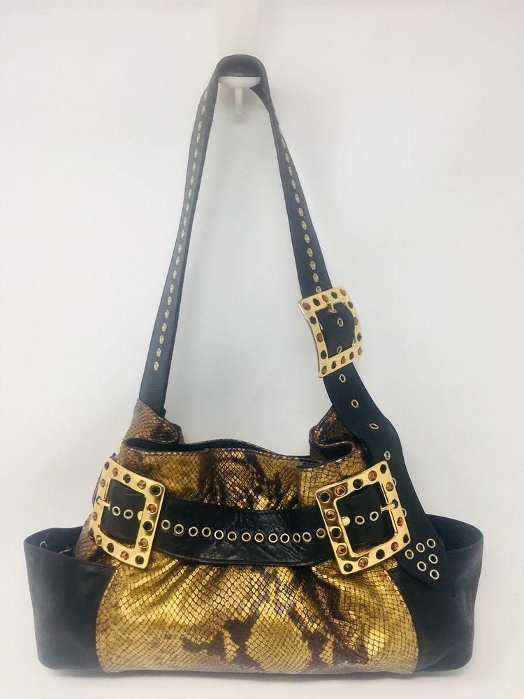 Michelle Monroe Belts That Rock Snakeskin Embossed Purse Shoulder Bag Handbag Fashion Clothing Shoes Accessories Womensbagshandbags Ebay Link