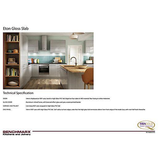 Best Matt Dove Grey Benchmarx Kitchens Joinery White 400 x 300