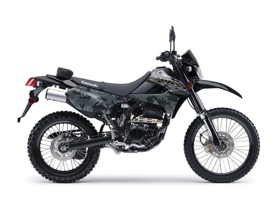2019 KLX®250 CAMO KLR™/KLX® Motorcycle by Kawasaki 250cc