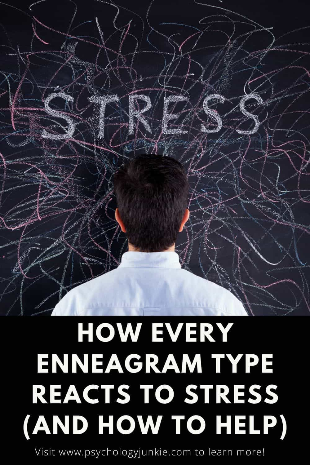 How Every Enneagram Type Reacts to Stress, and How