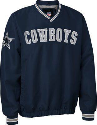 c1ca0eb3b3f Dallas Cowboys V Neck Pullover Jacket by DCM $49.95 | Dallas Cowboys ...