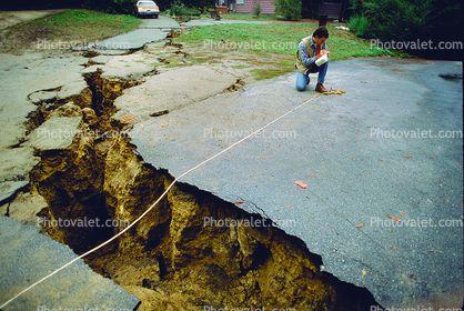 Santa Cruz Mountains, Loma Prieta Earthquake (1989)