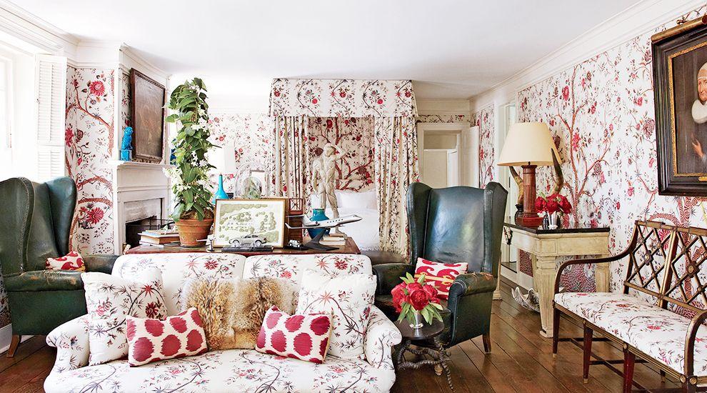 Pattern on pattern // tree of life, bedrooms