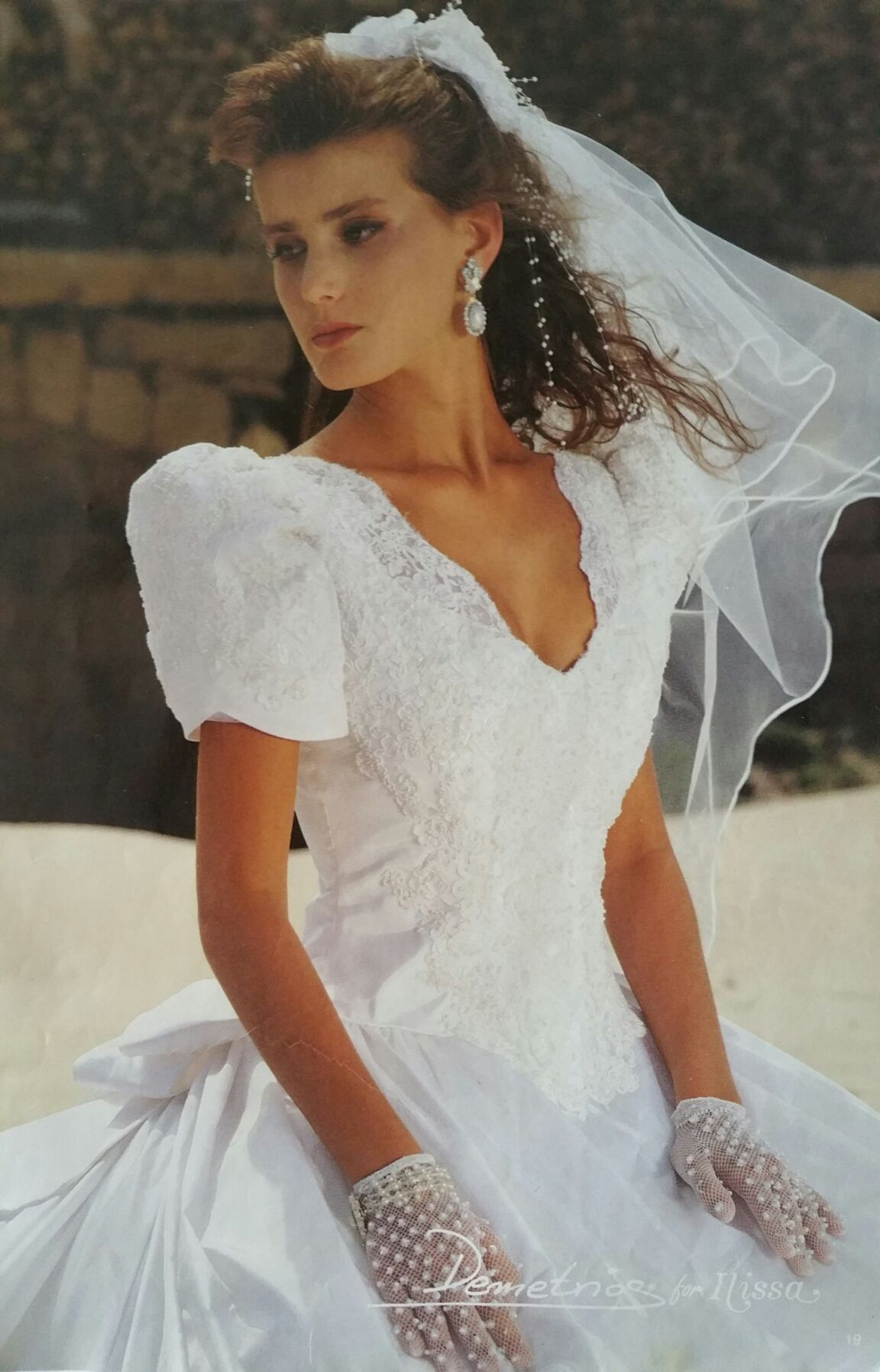 Demetrios 1992 | Demetrios 90\'s collections | Pinterest | Wedding ...