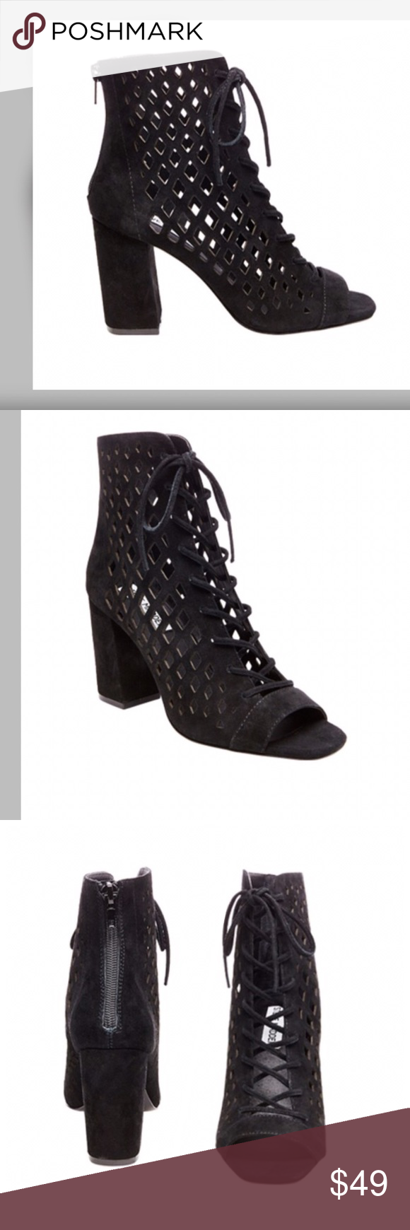 2b88a3888ed STEVE MADDEN Denay Ankle Boot! Worn one time! This edgy bootie is ...