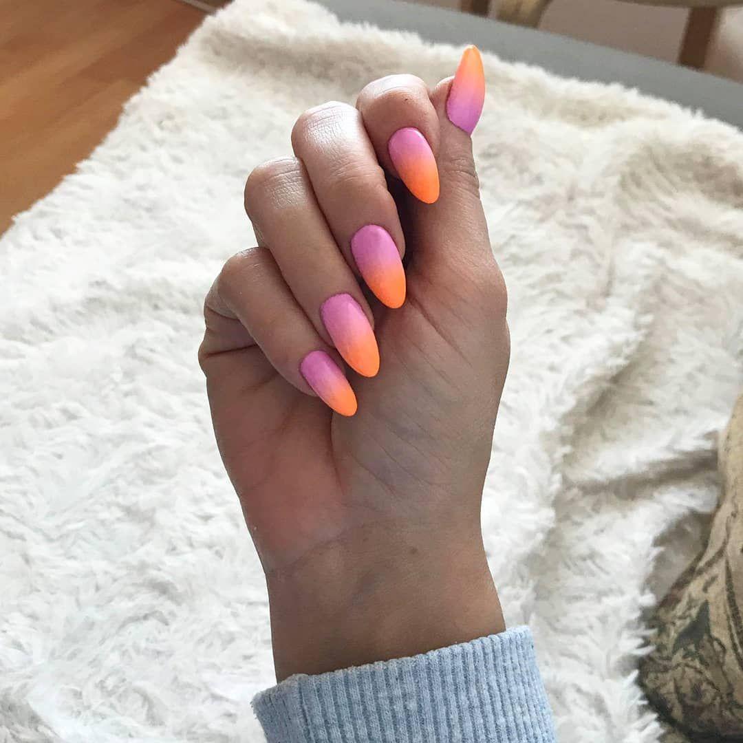 Karina Filipiuk On Instagram Sezon Na Neonowe Ombre Czas Start