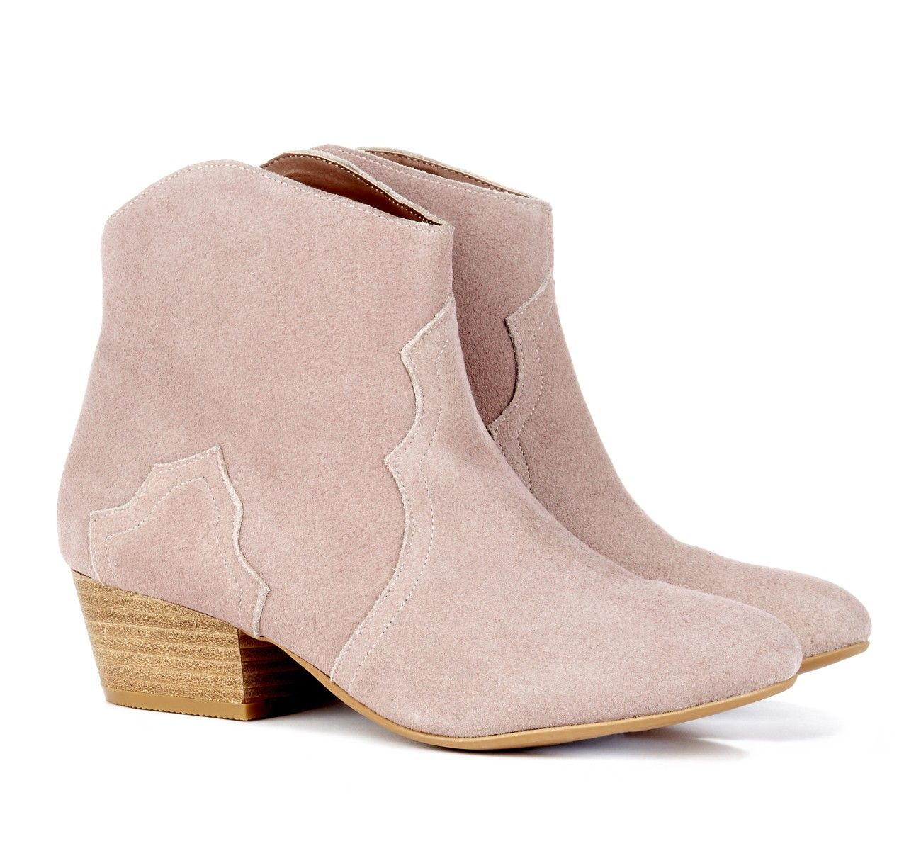 6384047e1673 Light Pink Cowgirl Booties | Music Festival and Concert Fashion ...