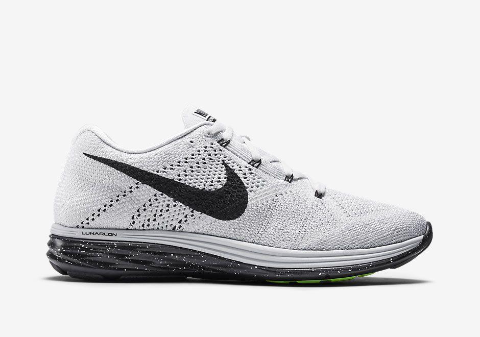 timeless design fef4a 44828 Nike Flyknit Lunar 3 in Classic White/Black - SneakerNews ...