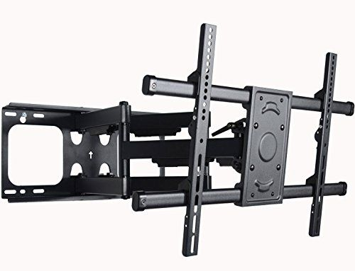 VideoSecu MW380B2 Full Motion Articulating Dual Arms TV W...
