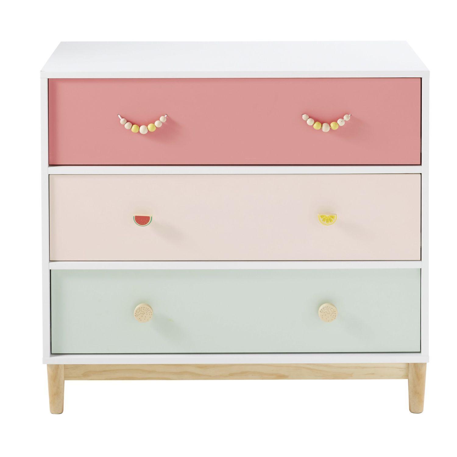 Children S Chest Of 3 Drawers Girl Bedroom Decor Ikea Kids
