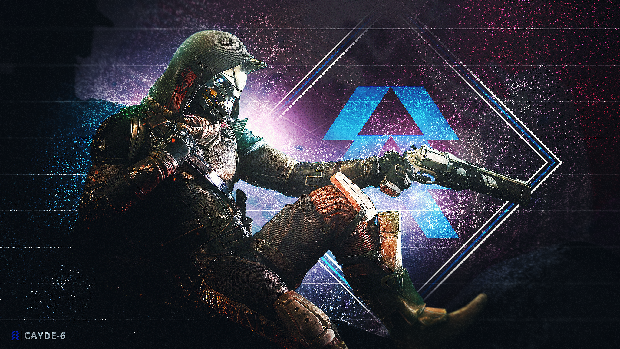 Cayde 6 Wallpaper Desktop Background Backgrounds Desktop Desktop Wallpaper Wallpaper