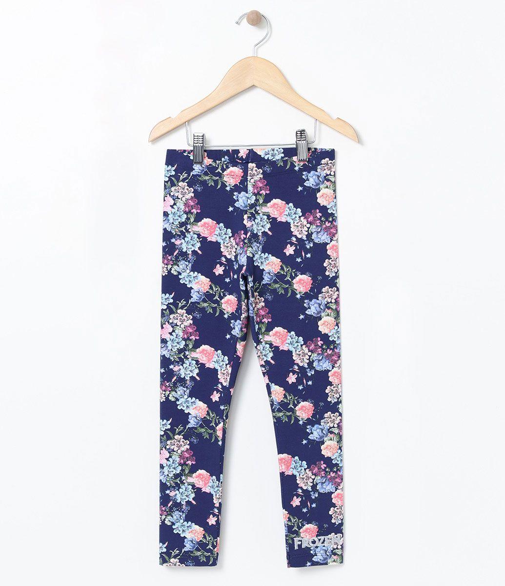 afaa1b8233 Calça infantil Modelo legging Com estampa Marca  Frozen Tecido  cotton  COLEÇÃO VERÃO 2017 Veja
