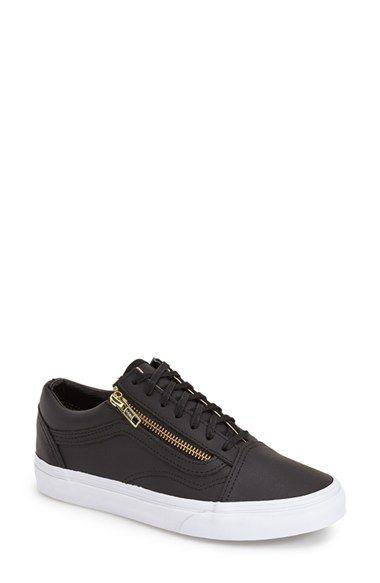 pánico Alboroto suma  Vans 'Old Skool' Zip Sneaker (Women) | Nordstrom | Womens sneakers,  Sneakers, Vans old skool
