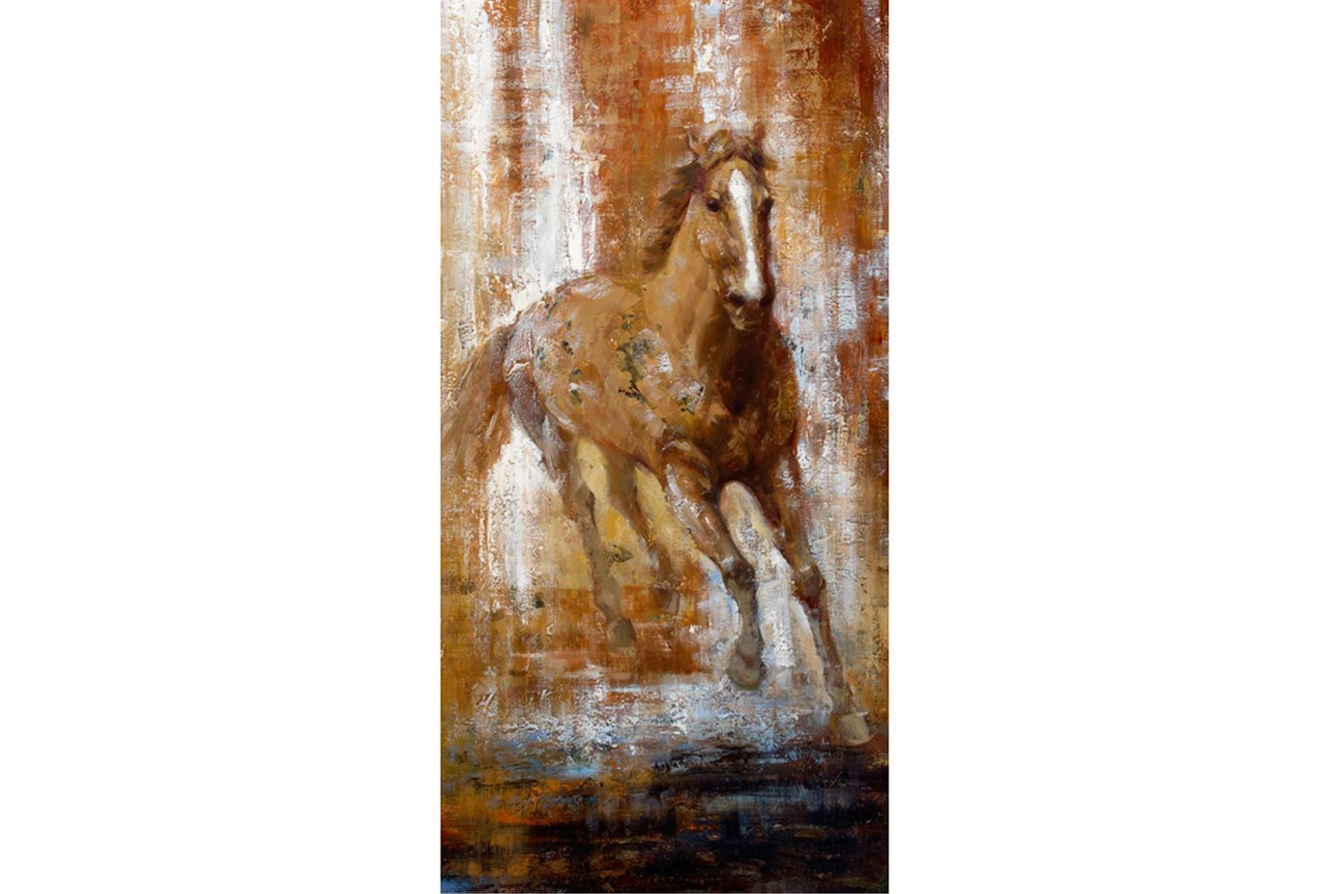 Picture-Brown Horse