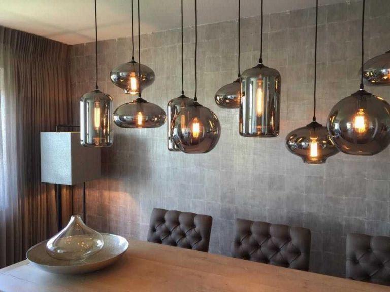 Lamp Boven Tafel Prachtige Eve Bulbs In Woonkamer Boven