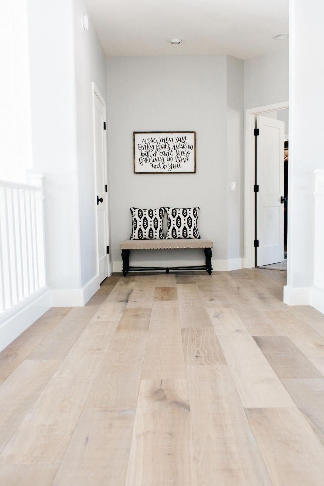 Montpelier Oak Wood Flooring Sold At Floor Decor Nice Blend Of Grey And Browns Flooringideaswood Home Remodeling Wood Floor Colors House Flooring