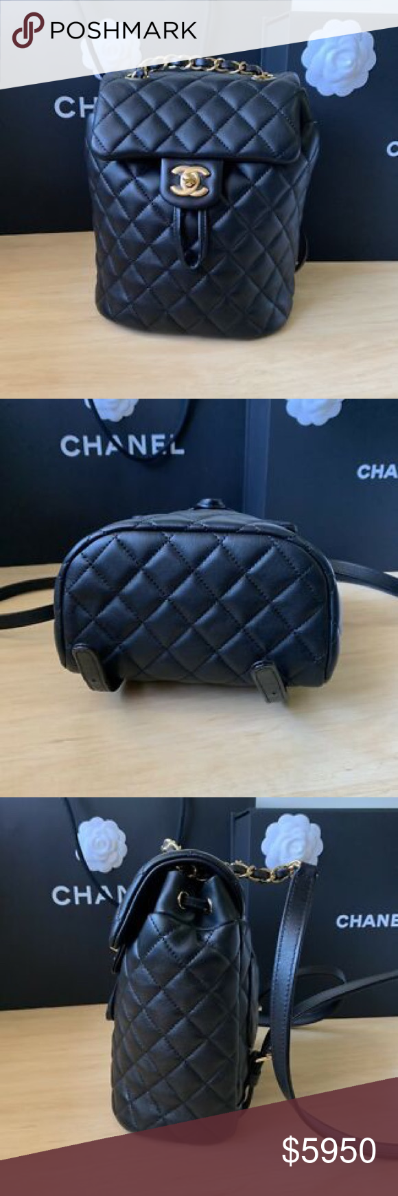 db4946dc4213 BRAND NEW CHANEL URBAN SPIRIT BACKPACK 2018 RARE LIMITED EDITION SOLD-OUT  COLLECTOR'S ITEM!