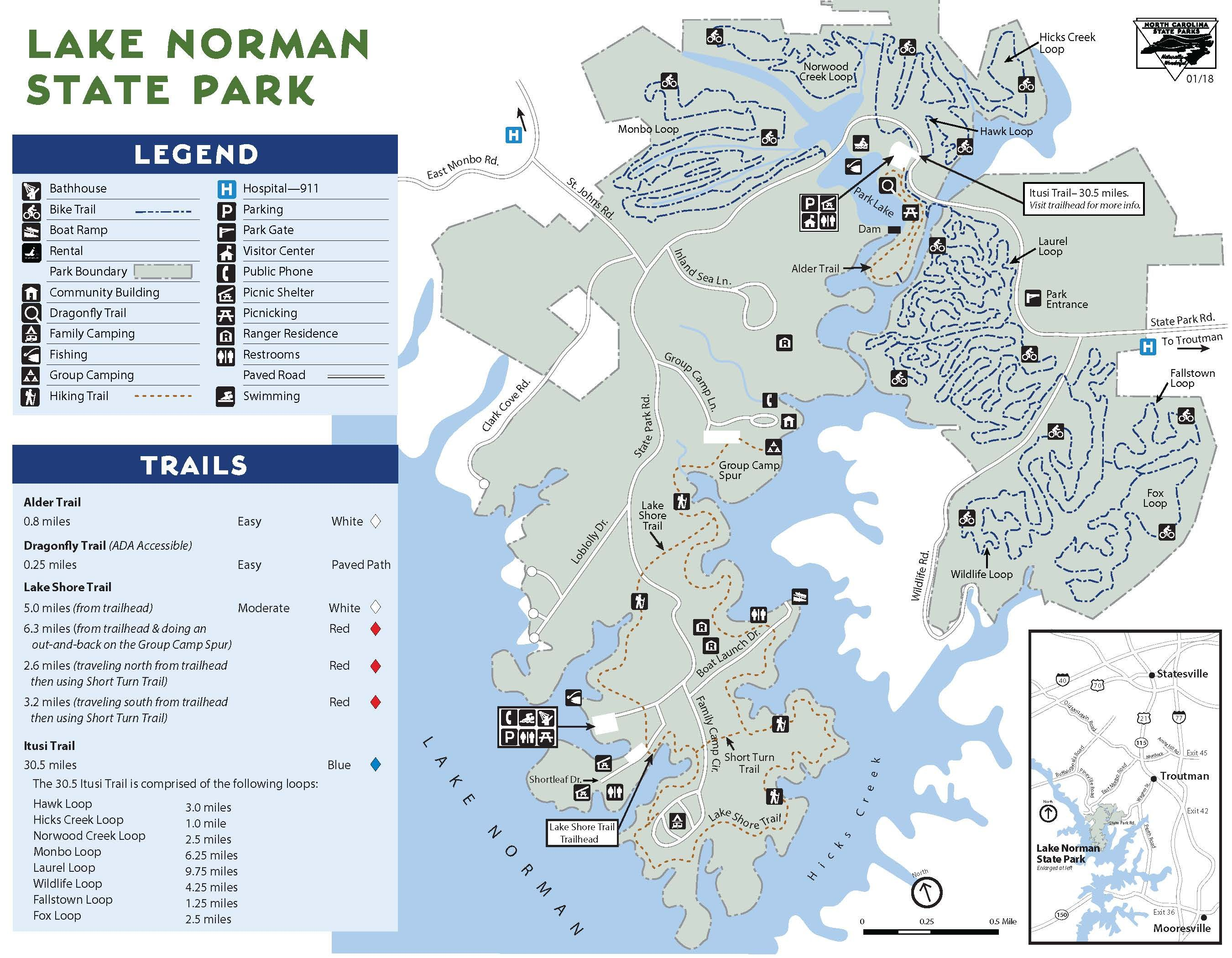 lake norman fishing map Lake Norman State Park Summer Travel Fun State Parks Lake lake norman fishing map