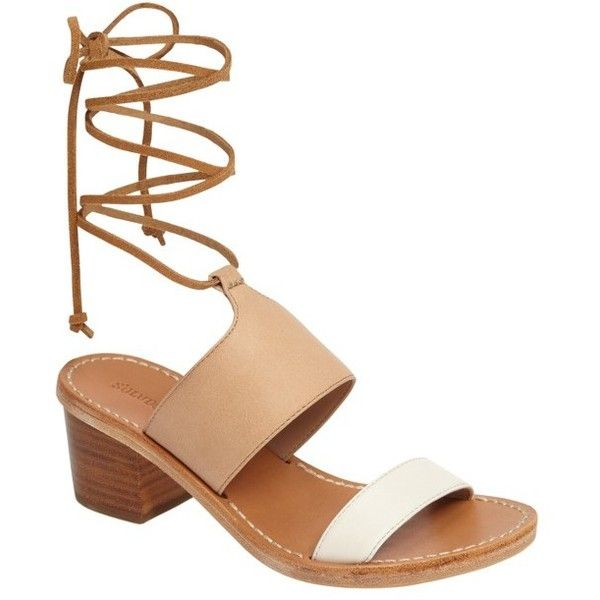 clearance clearance outlet official site Soludos Leather Wrap-Around Sandals FCzdMZlzk