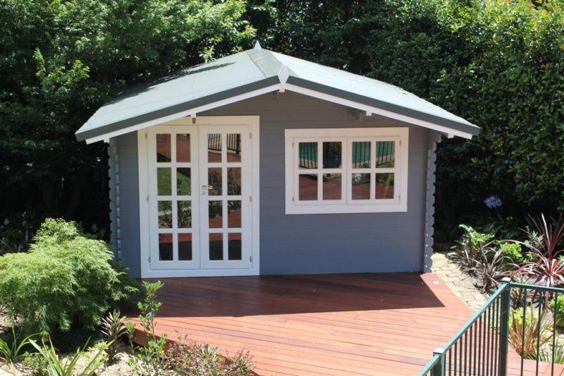nice colour Gartenhaus, Kleine hütten, Hinterhof