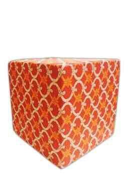 Orange Swirl Ottoman-hautelook.com