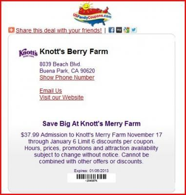 graphic relating to Knotts Berry Farm Printable Coupons referred to as Pin by way of Mike Marston upon Household Specials and Discount codes Berries