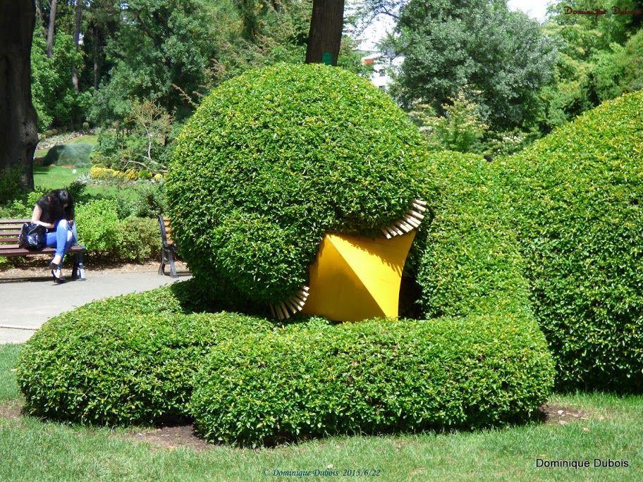 Le Poussin du jardin des plantes de Nantes- Claude Ponti - le jardin ...