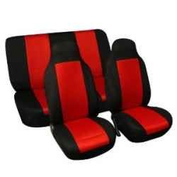 If Youre Looking For A Fun Way To Change The Interior Of Car Try Some Red Seat Covers These Go Long Making Your Seats Much More Appealing
