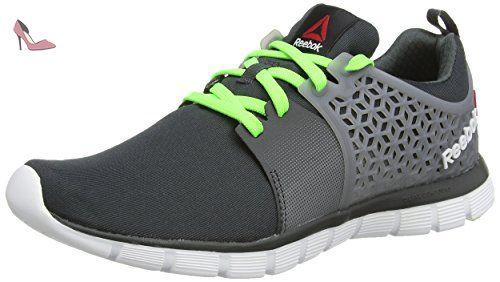 sale retailer dc478 e2980 Reebok Z Dual Rush 2.0, Chaussures de Running Homme - Gris (gravel flat
