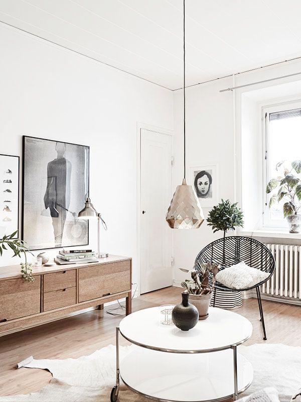 Inspiraci n deco salones n rdicos y acogedores for Design nordico on line